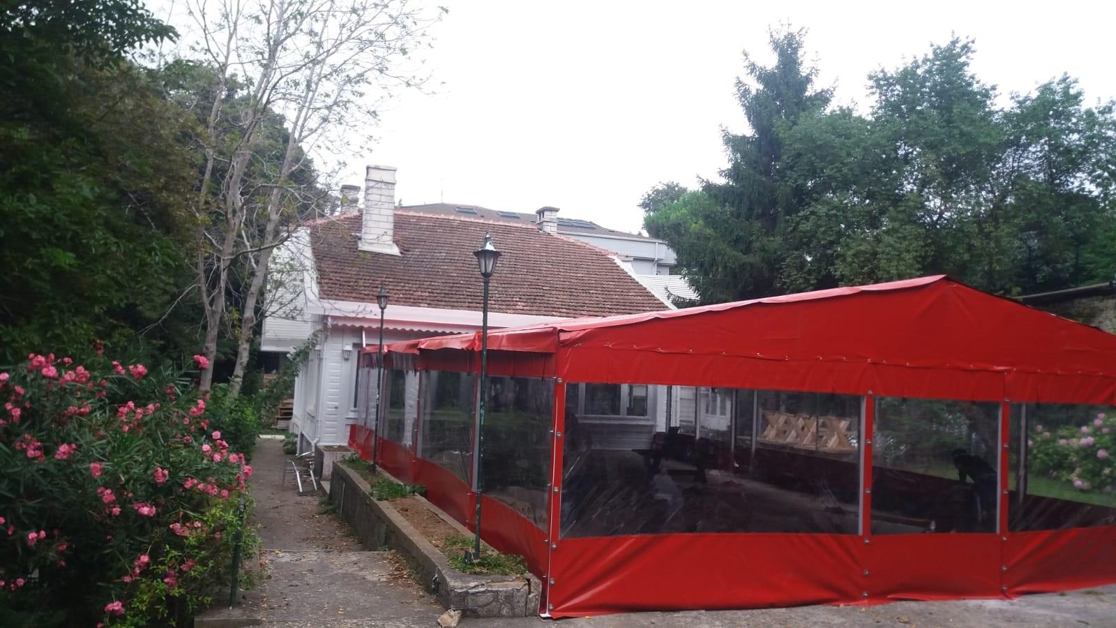 Şeffaf Branda | Çadır - Branda 0212 238 81 44