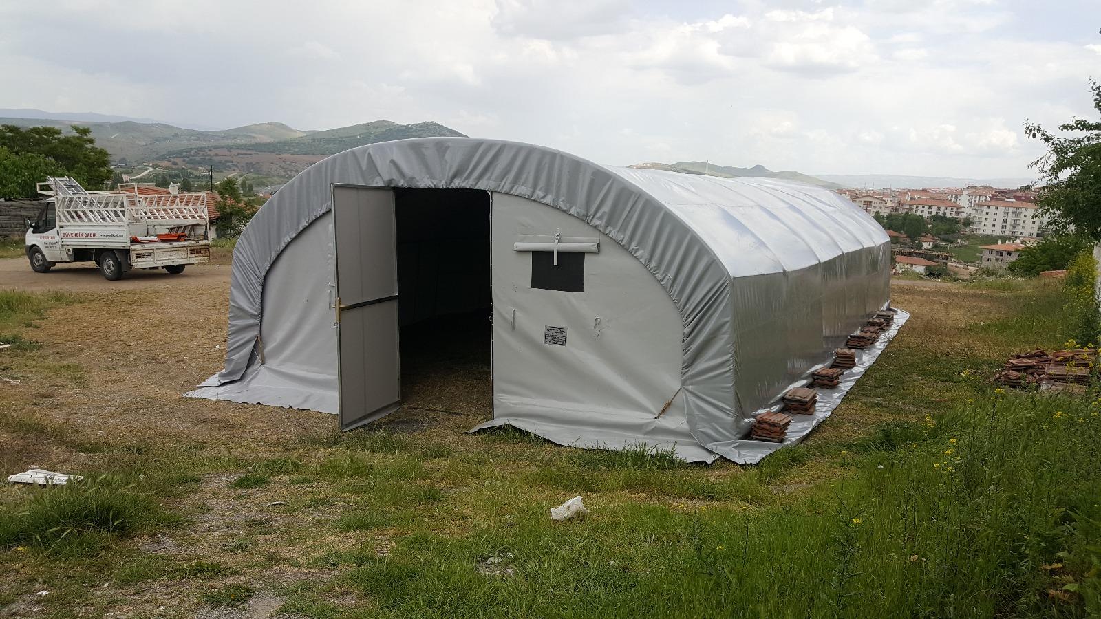 izolasyonlu şantiye çadır