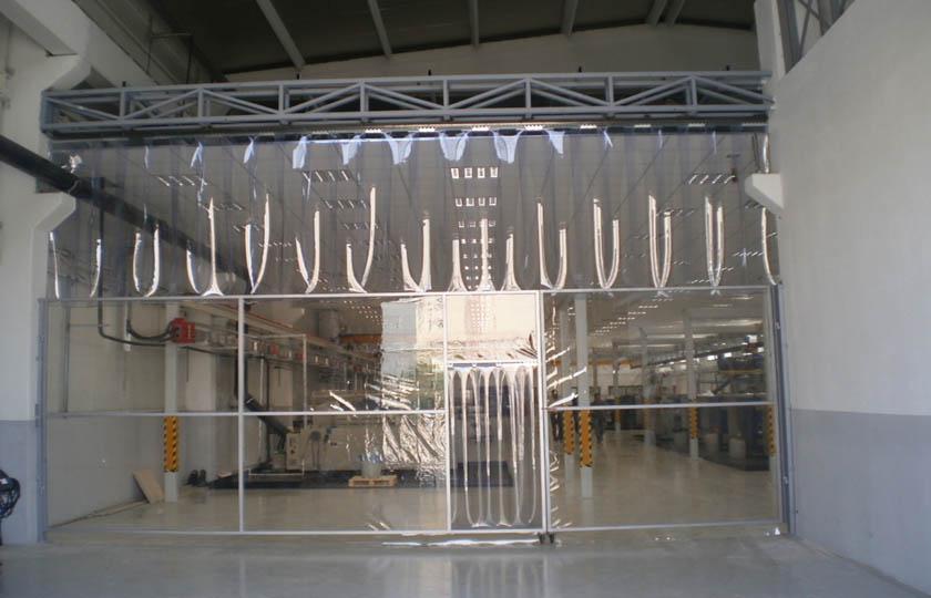 şeffaf fabrika brandası