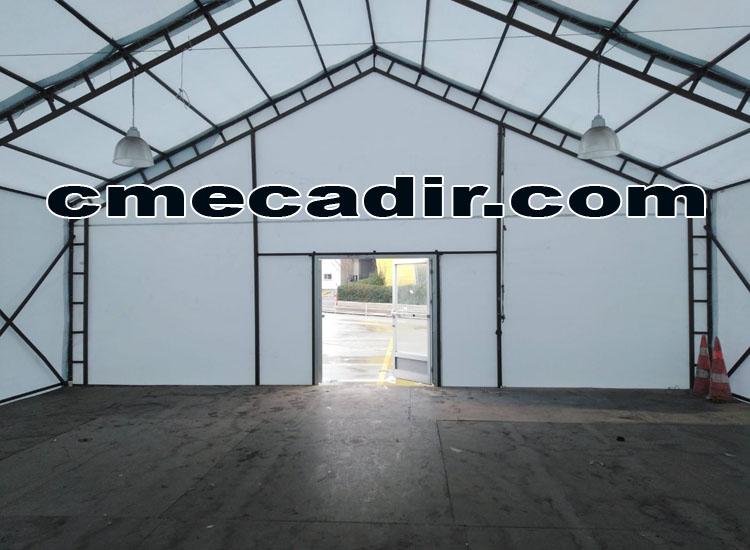 Depo Çadırı Kapı Girişi