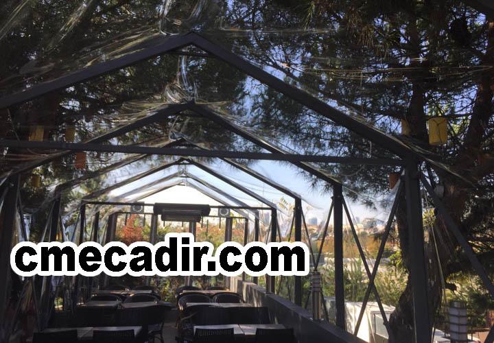 Akordiyon çadır