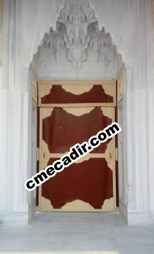 cami kapı brandası
