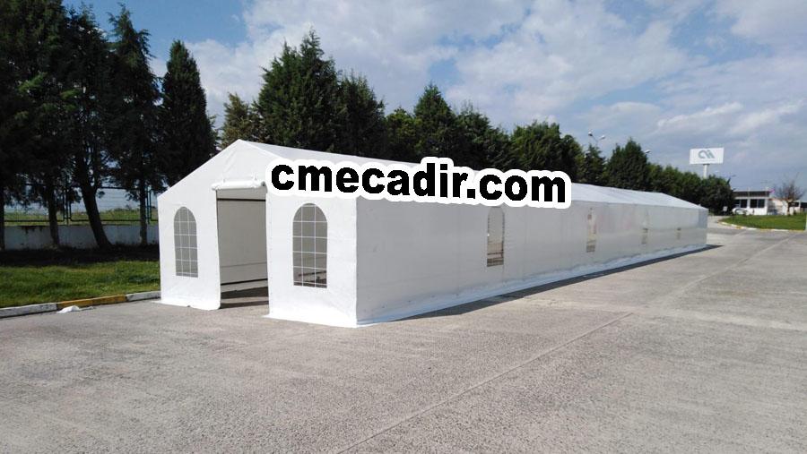 Şeffaf Camlı Depo Çadırı
