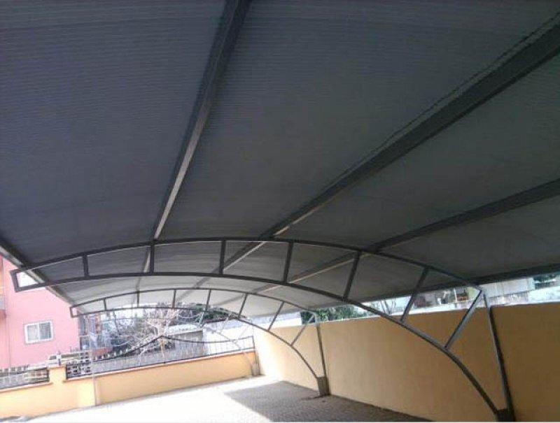 Duvara Montajlı Otopark Çadırı