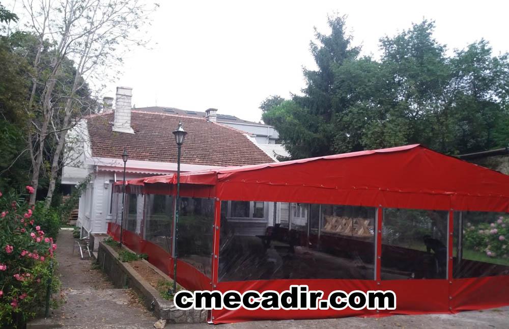 Şeffaf Branda Kafe